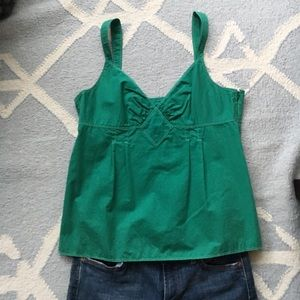 Adorable Green J.Crew Tank Top / Size 12
